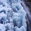 真冬の水流