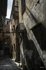 広州 老街探訪 斜陽