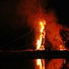 弓削の火祭り1