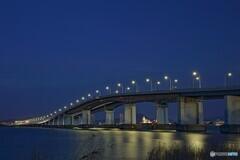 琵琶湖大橋夜景