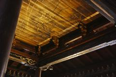 天井に棲む龍