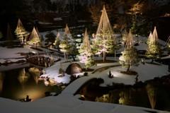 金沢城公園ライトアップ1