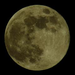 5/7の満月。