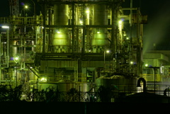 工場夜景(ダイセル化学姫路製造所)
