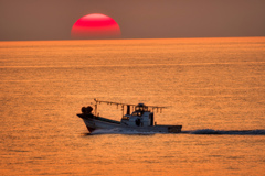 イカ釣り漁