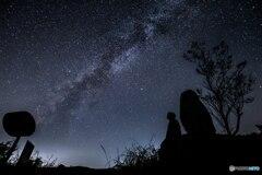 星空を見上げて