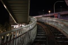 神戸 税関前交差点 歩道橋