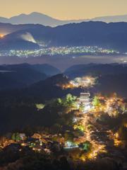 吉野山の夜景