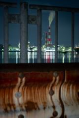 大阪の工場夜景