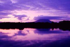 紫峰筑波山