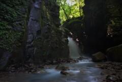 光芒なき滝