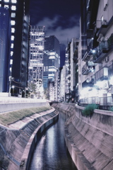 渋谷の夜景