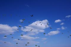 第1空挺団降下訓練始め④