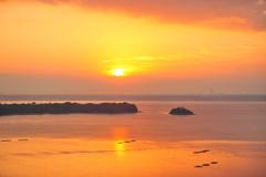 20141018_060604 オレンジ色の朝