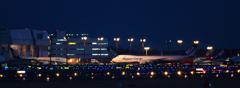 成田空港夜撮