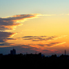 江戸川の夕陽2