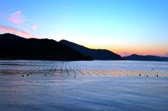 宇和島の海 夕景2008