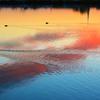 江戸川の夕焼け