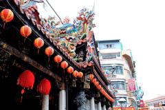 寺院の飾り