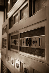 an old cupboard