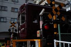 阪急電車 踏切