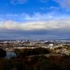 野見山展望台から豊田市を望む