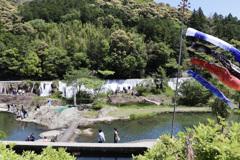 今日は長篠堰堤へ行ってきました。