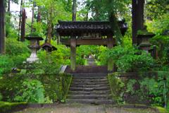 雨の鎌倉 浄智寺