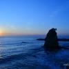幸せの青い海?