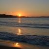 腰越海岸からの日の出