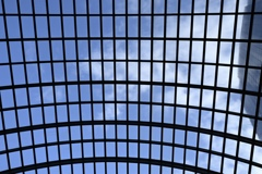 ガーデンプレイスの屋根