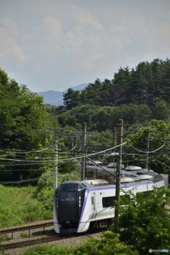快晴なら富士山