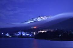 層積雲の山上り
