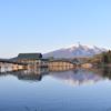 鶴の舞鶴(津軽富士見湖)