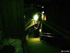 金沢の階段