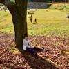 お母さんが撮ってくれた秋の一枚