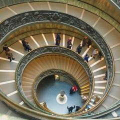かの有名な螺旋階段