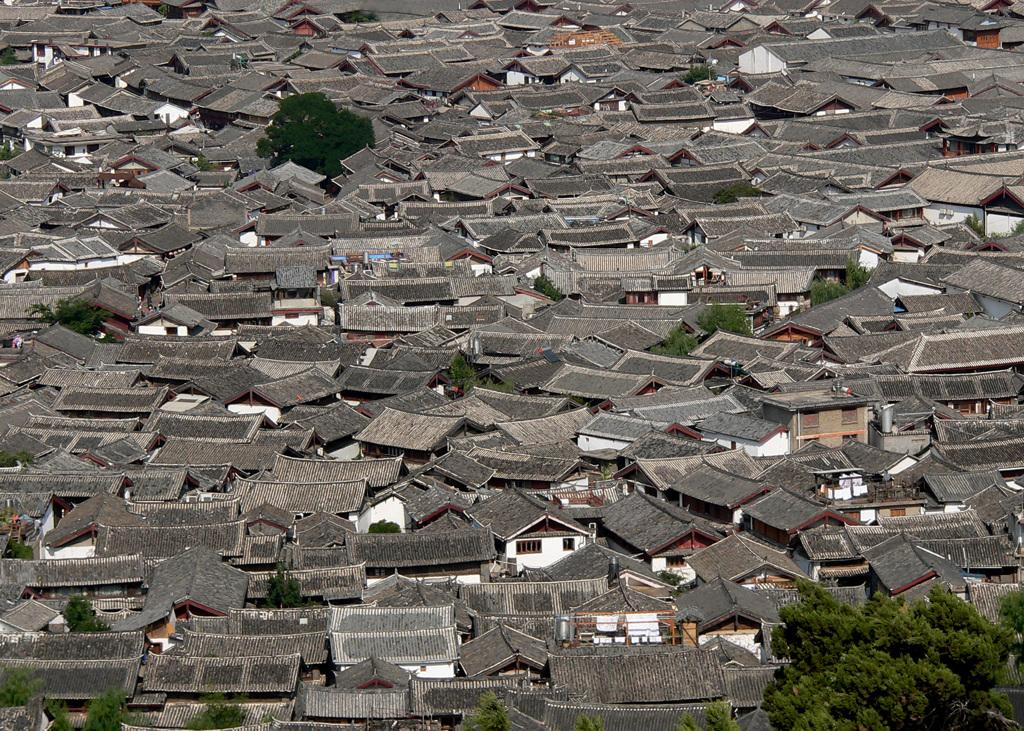 麗江古城集落