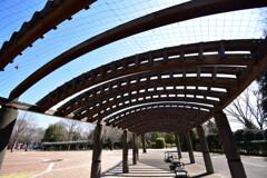 開放的な屋根
