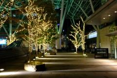 夜の東京ミッドタウン