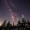 初夏の高原と星明り