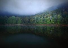 雨の切れ間の静寂