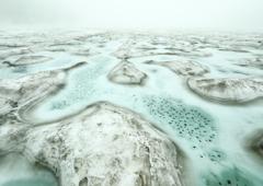 雪解け野々海池