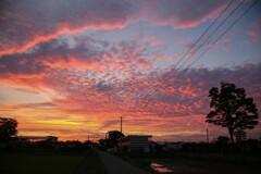 〇〇丁目の夕日