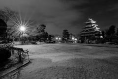 静かな松本城公園
