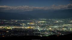 塩尻・松本夜景