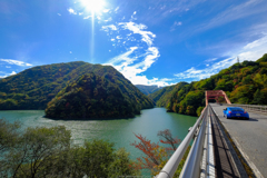 乗鞍への橋