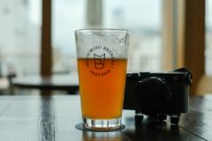 ビールとカメラ、幸せな休日
