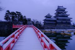 雪化粧の埋橋