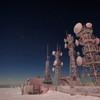 アンテナ塔と宙